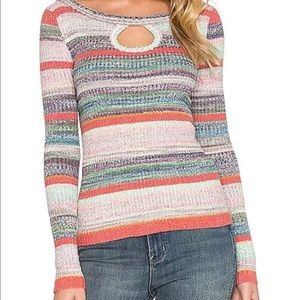 Free People Sunshine Dreamer Stretchy Sweater M